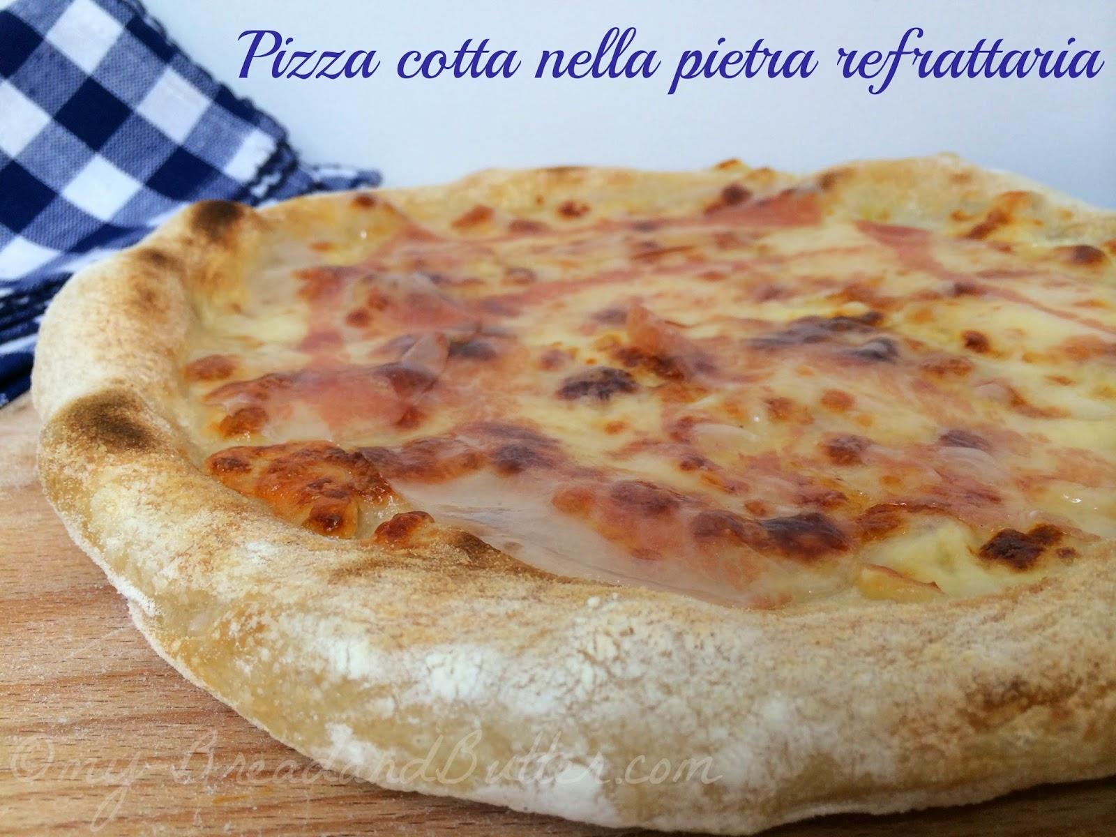 pizza con scamorza affumicata e guangiale