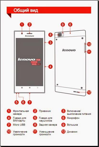 смартфон леново пользователя инструкция