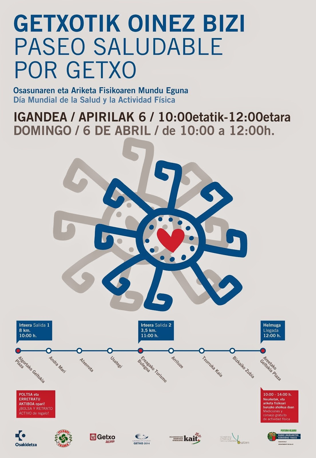 DOMINGO 6 DE ABRIL DE 2014. DE 10H A 12H