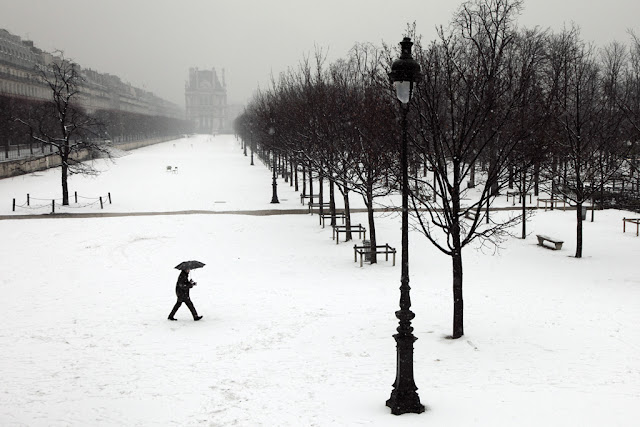 Christophe Jacrot. Winter in Town