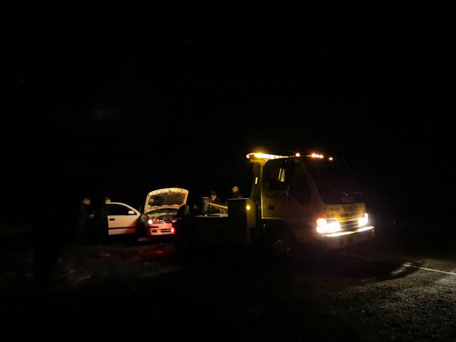 Iceland tow car