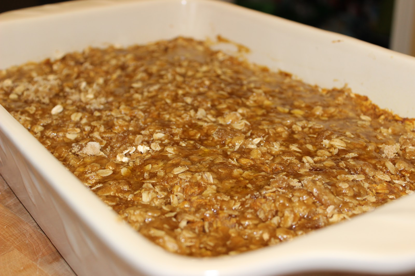 The Cookbook Project: Baked Pumpkin Pie Oatmeal