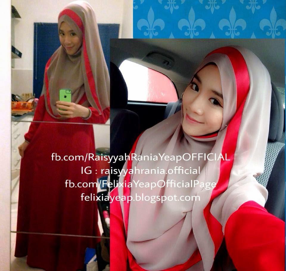 Mengejutkan Fesyen hijab yang mungkin akan menjadi popular di Malaysia pada tahun 2015