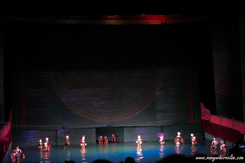 Thang Long Water Puppet Show in Hanoi, Vietnam