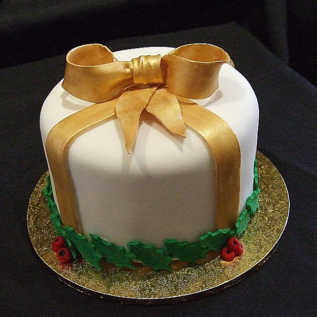 Beauty And The Best ♥ ♥  CHRISTMAS CAKES  ♥ ~ 073633_Cake Decoration Ideas Xmas