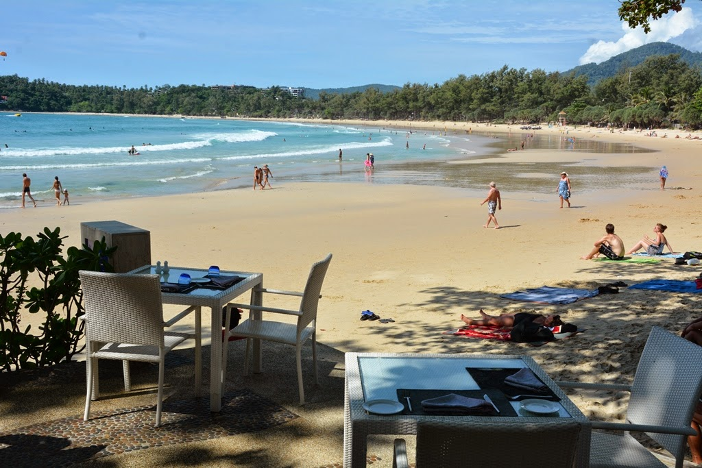 Re Ka Ta restaurant Phuket beach view