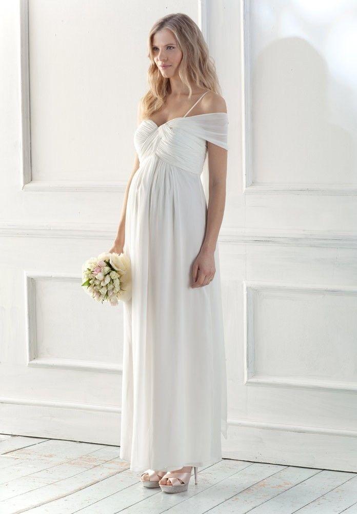Casual Maternity Wedding Dresses 52