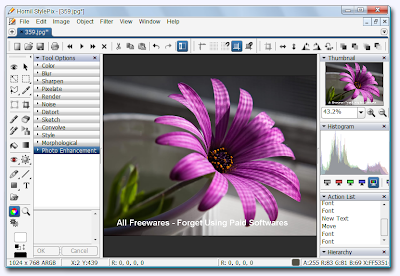 Hornil StylePix , graphic editing , image editing software