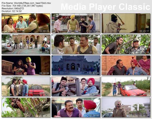 Heer And Hero 2013 DVDRip 700mb