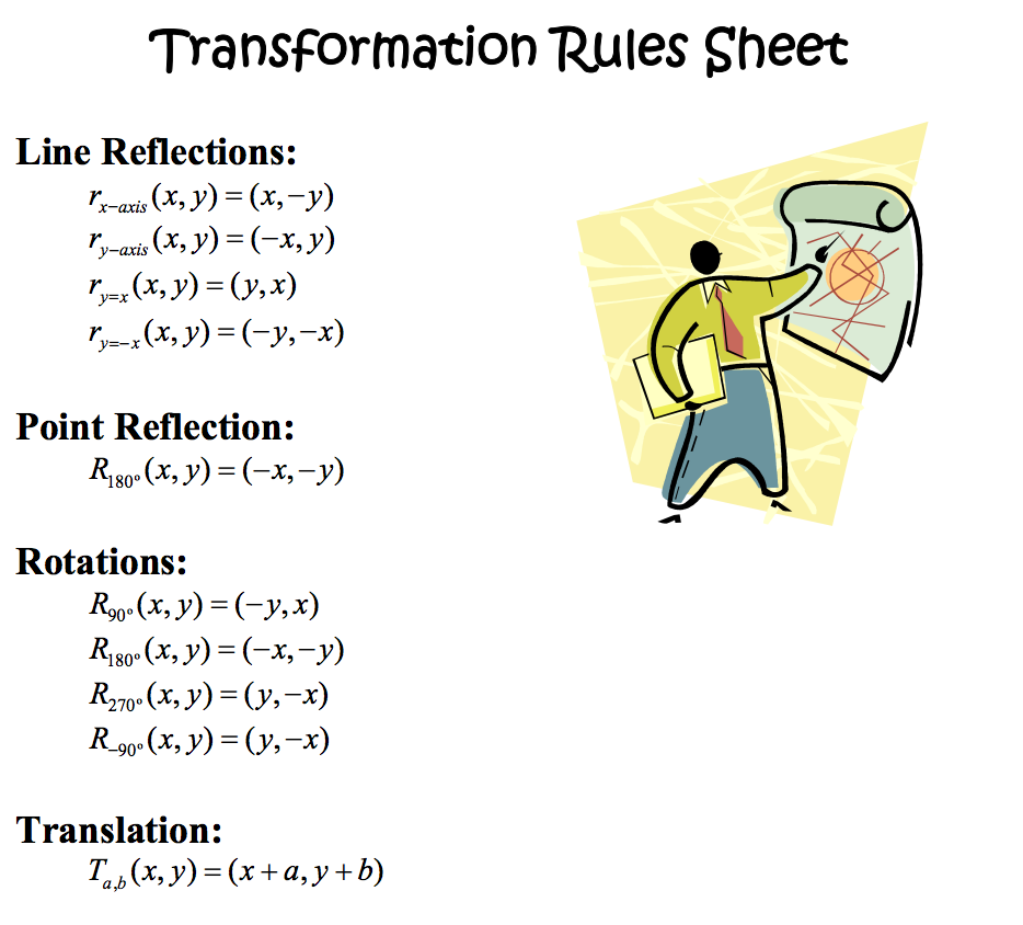 worksheet Transformation Worksheets 8th Grade bhms proving it 8th grade rotation and translations homework translation worksheet