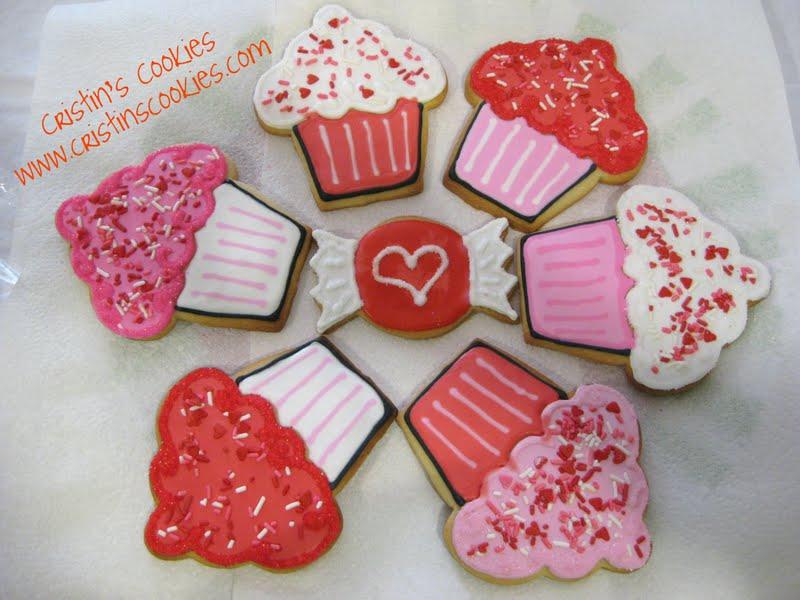 Cristin's Cookies: Chocolate Valentine Cookies - Taste Testers