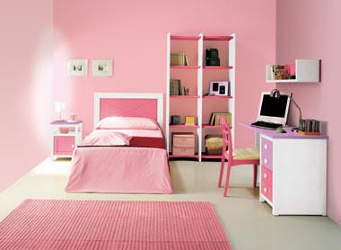 Decoracion de dormitorios juveniles habitaciones juveniles - Como decorar una habitacion juvenil femenina ...