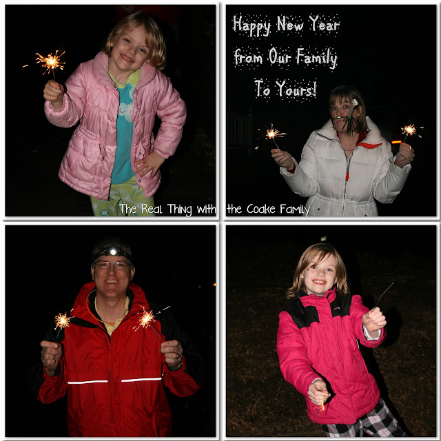 Fun idea for a Family New Year