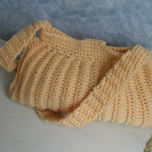 Easy Crochet Tutorial For Ripple Handbag Free Pattern Crochet