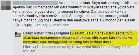 Hukum Memecahkan Dara Wanita