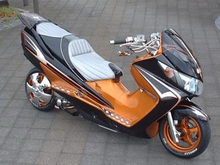kumpulan Variasi Motor Matic Honda
