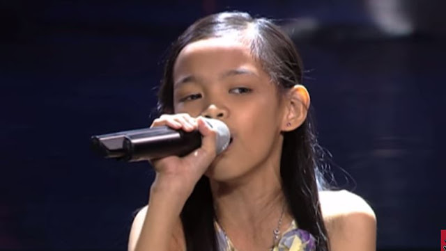 "Zephanie Dimaranan belts out ""Till I Met You""on The Voice Kids"