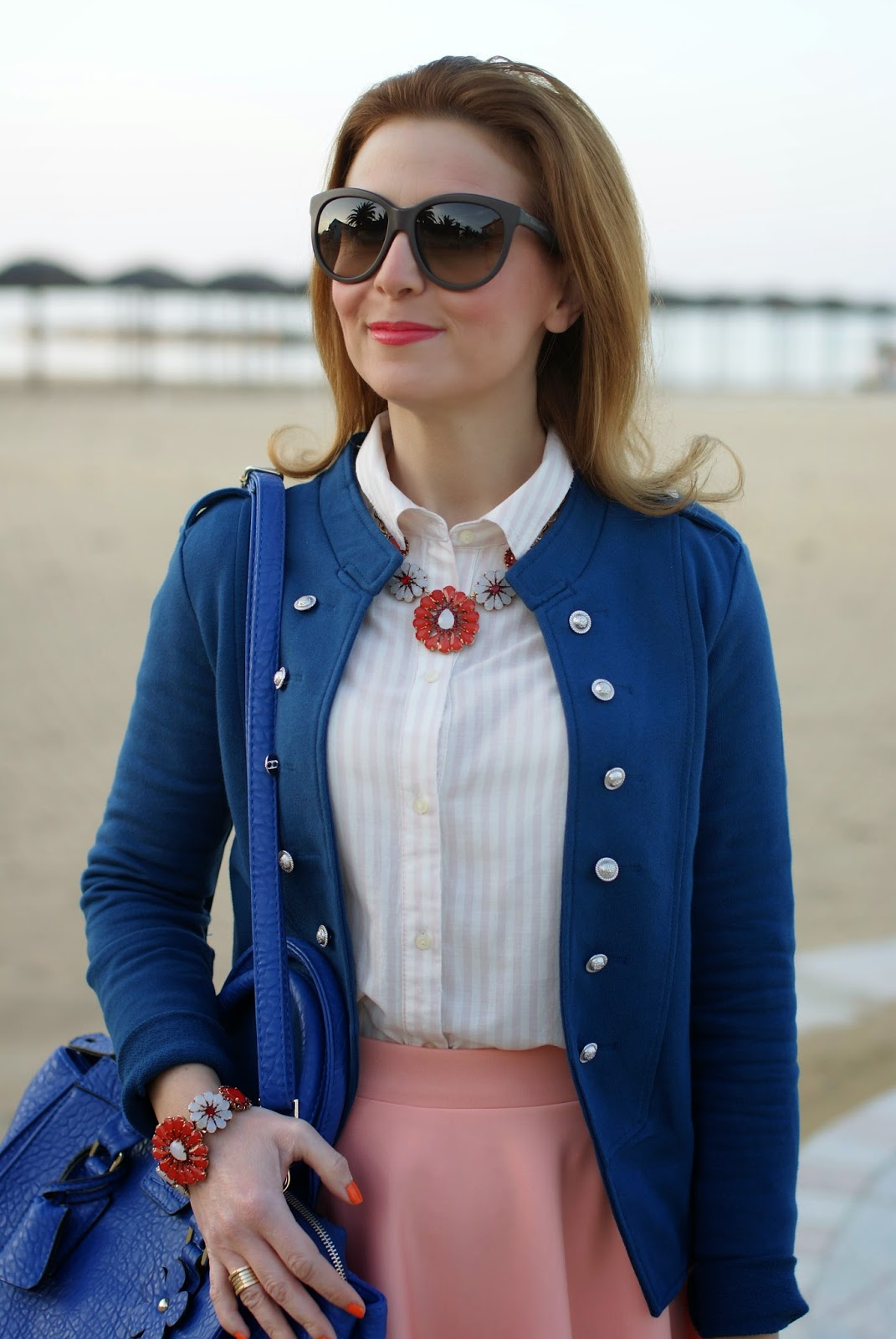 Sodini bijoux Spring Summer 2014, Only Anette military blazer, Fashion and Cookies, fashion blogger