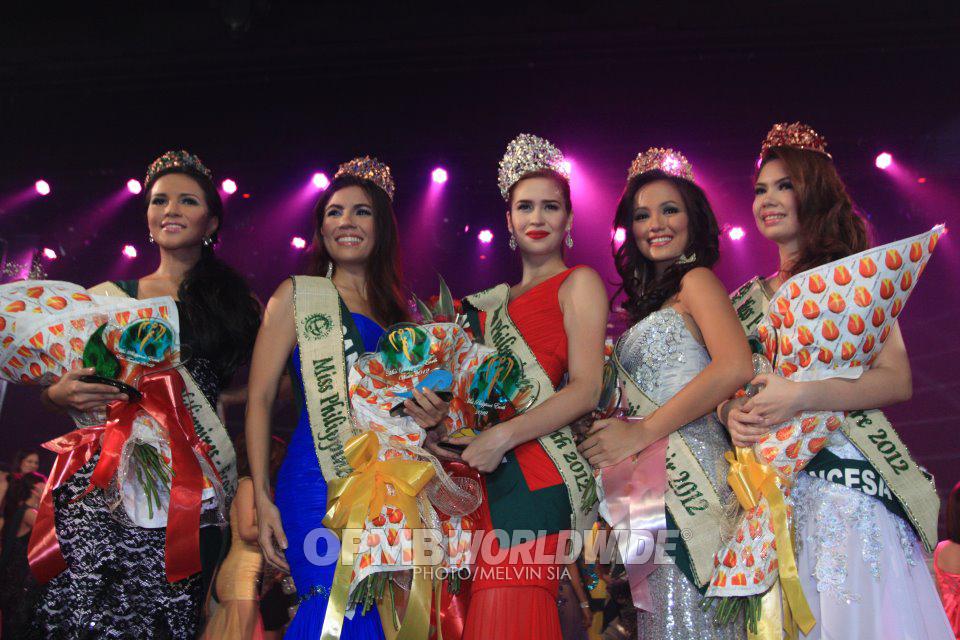 Miss Philippines Earth 2012 winner Quezon City Stephany Stefanowitz