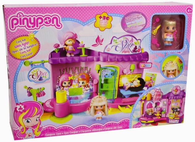 TOYS : JUGUETS - PINYPON - SPA Centro de Belleza  Producto Oficial | Famosa 700011513 | A partir de 4 años