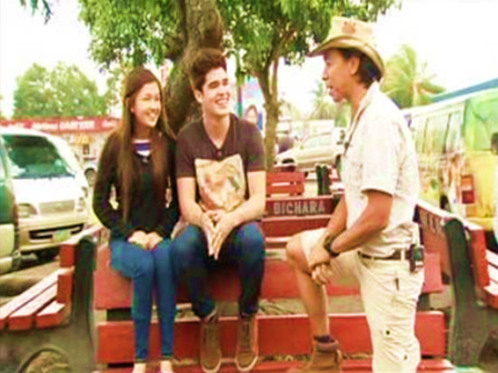 Kuya Kim dares Ryan and karen (RyRen) to an Albay adventure in Matanglawin this Sunday