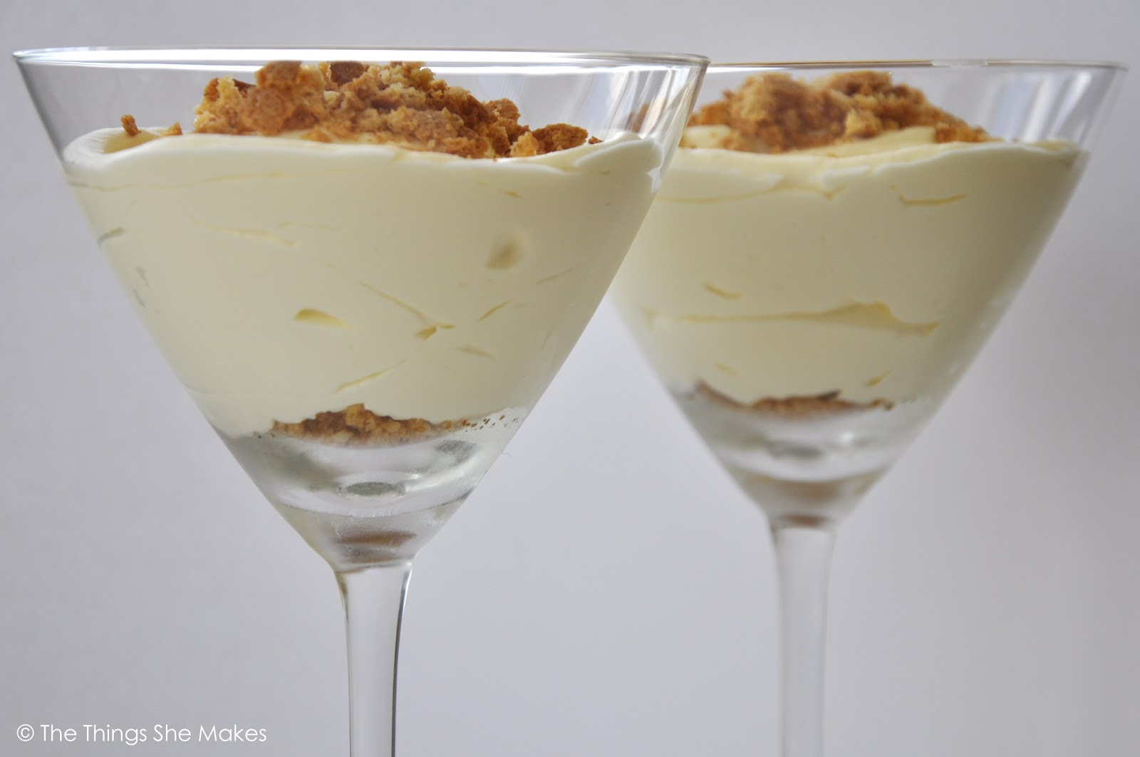 how to make lemon and amaretti biscuit dessert the things she makes