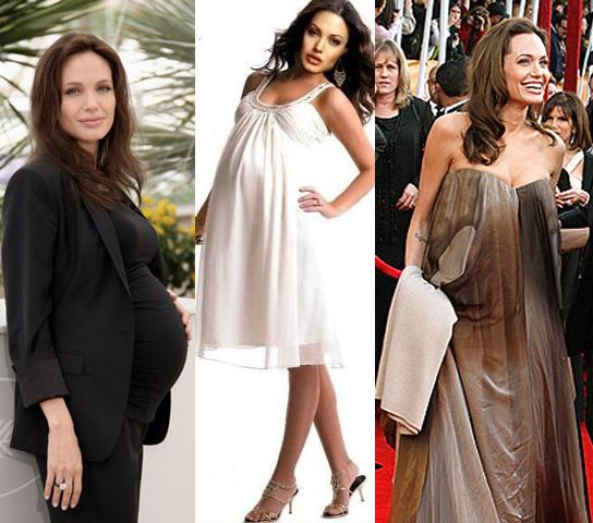 Ünlüler hamilelik dönemlerinde neler giymişler diye merak ettim ve