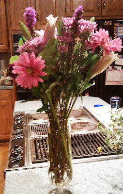 Birthday flower bouquet from my husband