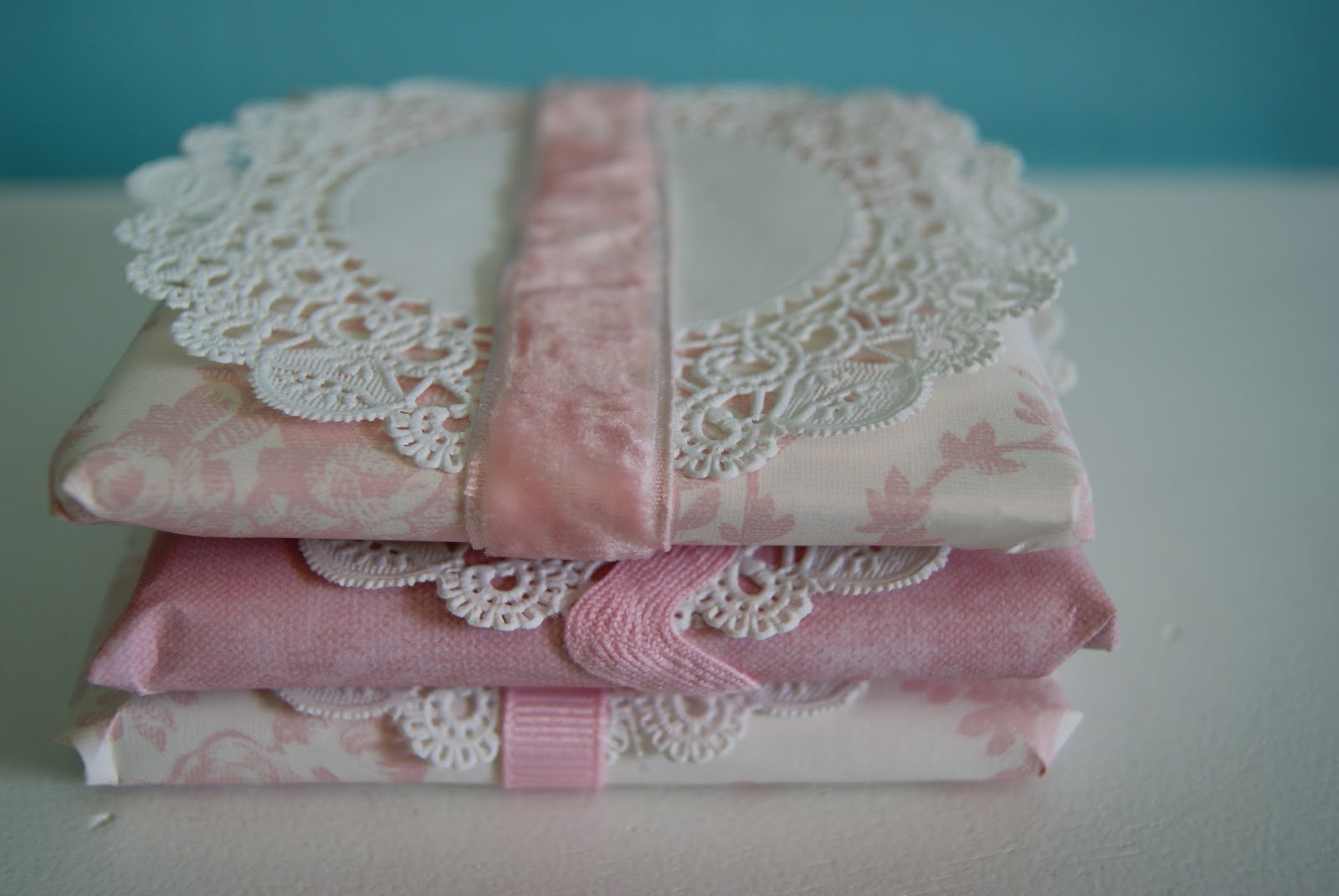 nest full of eggsPaper Doilies for Gift Wrapping