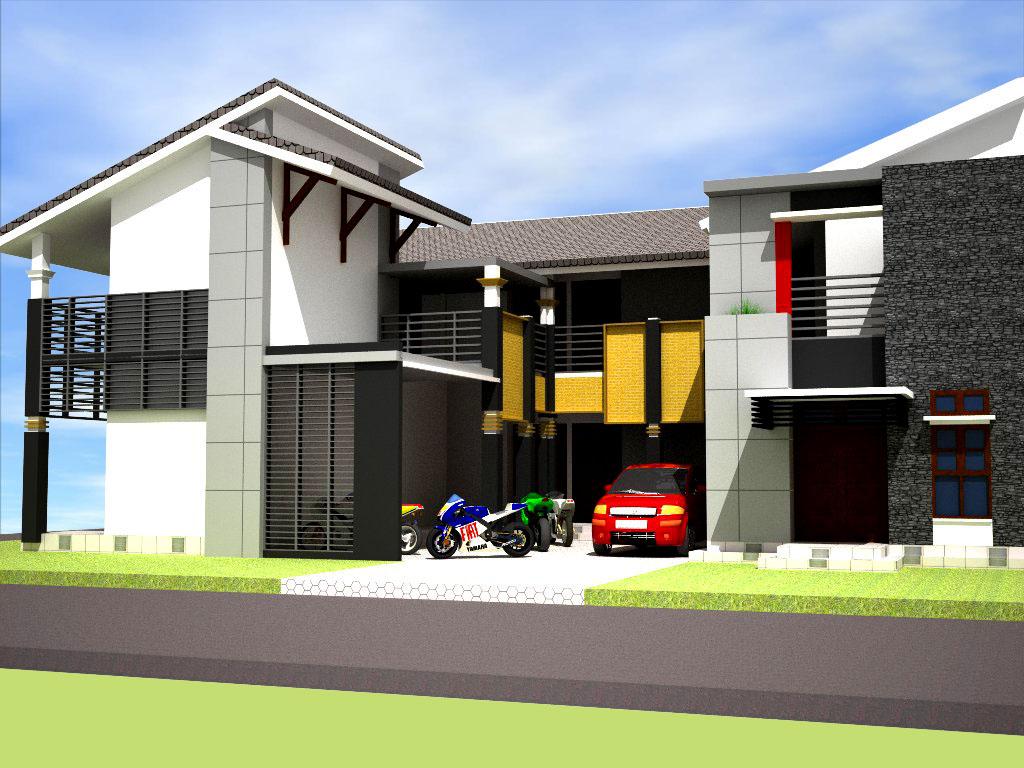 Desain Rumah Kost Minimalis
