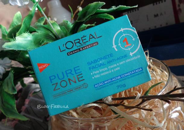 Sabonete para pele oleosa, anti-acne PureZone