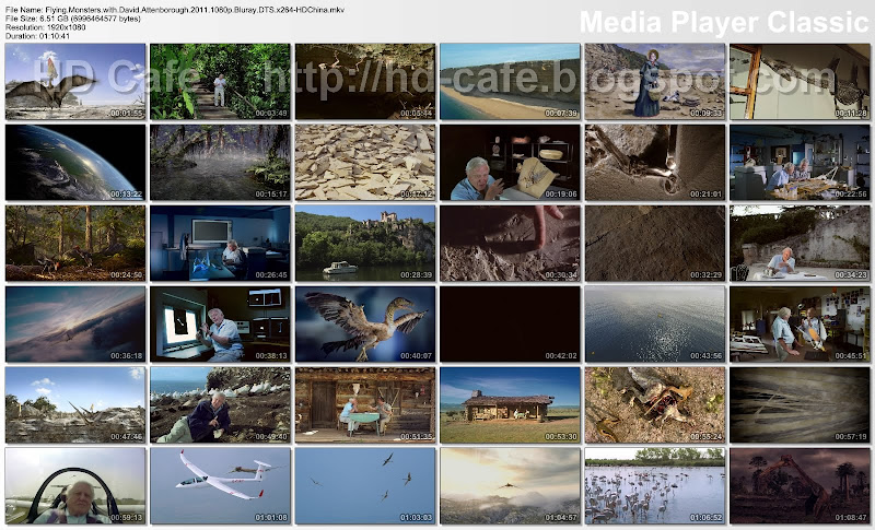 Flying Monsters with David Attenborough 2011 video thumbnails
