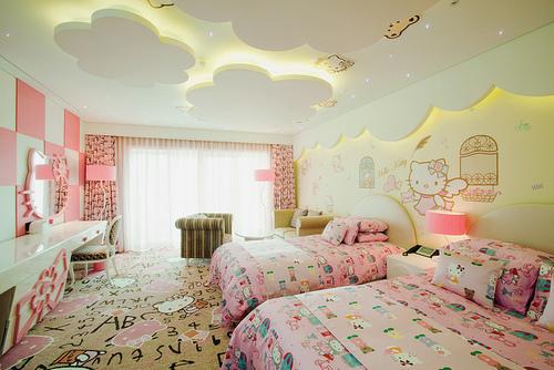 Dormitorios fotos de dormitorios dormitorios2013 for Cuarto para nina hello kitty