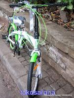 Sepeda Lipat Pacific 20-2980 6 Speed Shimano 20 Inci