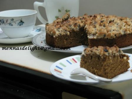 Cake Making Classes In Mysore : Foodie Delights Bangalore - Life n Spice: Streusel Coffee Cake
