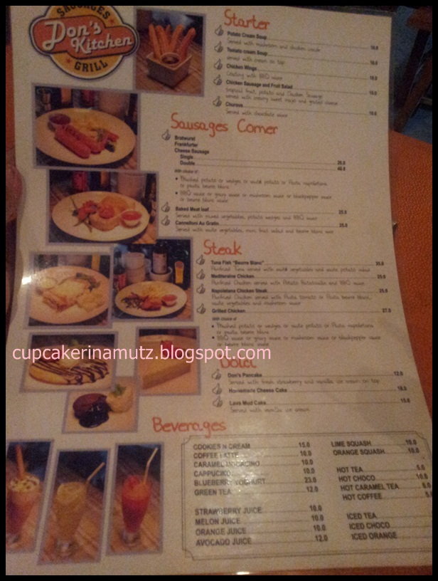 Kuliner jogja don 39 s kitchen rina chabbymutz for Z kitchen jogja menu