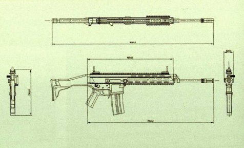 Ini SCAR, senapan serbu canggih rancangan perwira Kopassus