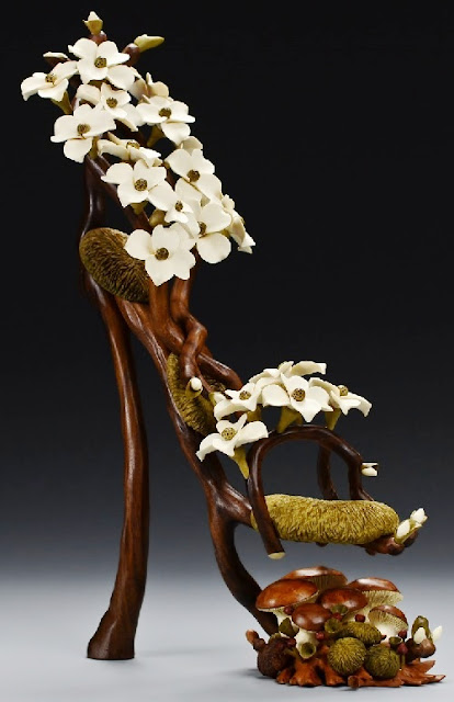 fabulous wood art by Denise Nielsen & George Worthington