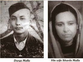 Shaheed Major Durga Malla & Smt Sharda Malla