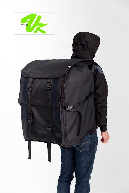 Fixed Gear Blog: A HUGE Messenger Bag