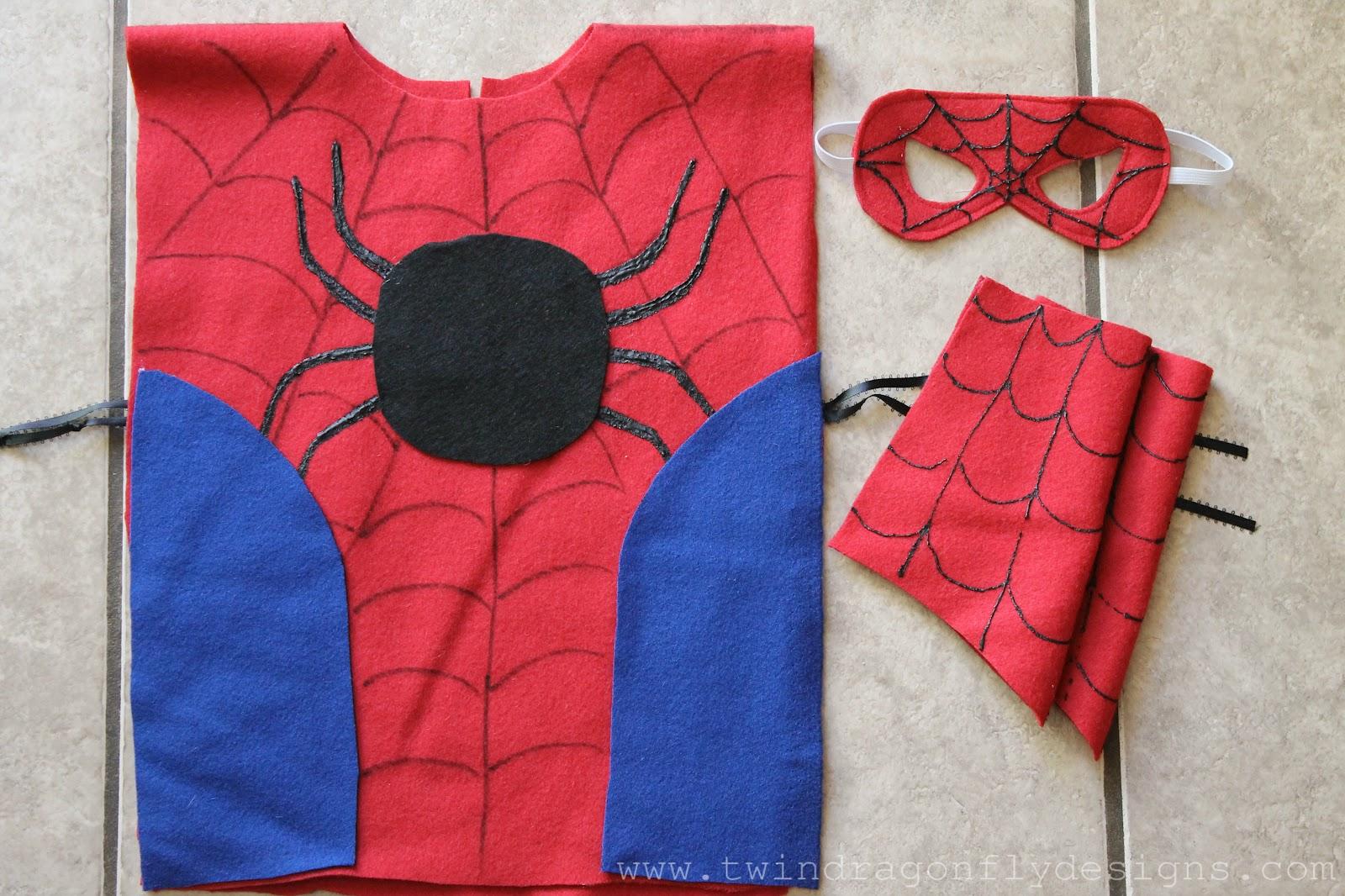 Как сшить костюм человек паук 495