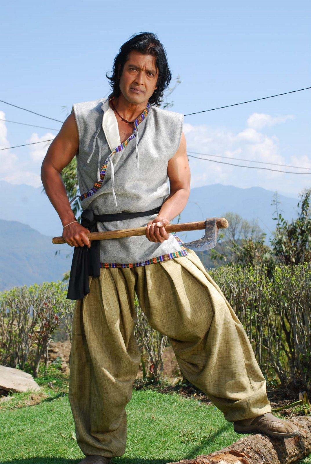 Nepali Model|Nepali Glamour: Nepali Actor Rajesh Hamal ...