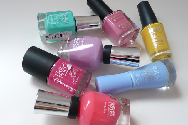 summer nail polish