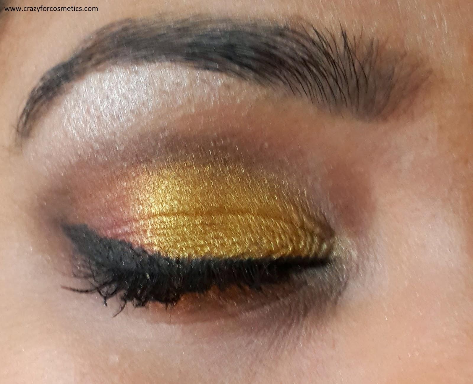Arabic eyemakeup-arabic bridal look