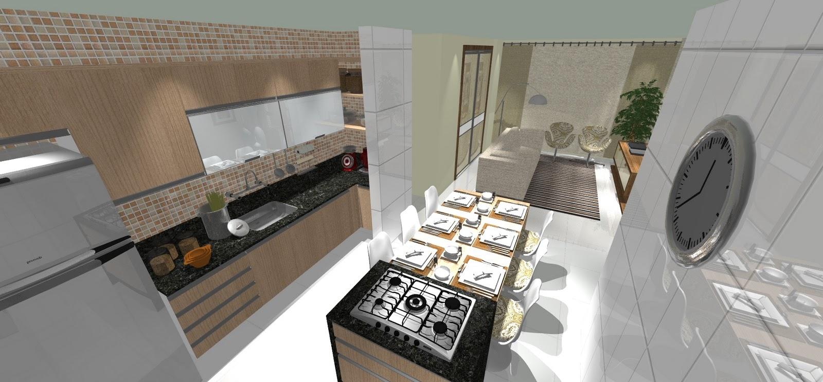 Fogao Ilha Qualidade Segurana Cozinha Preta E Branca Com Coifa Em