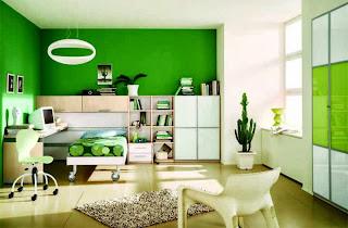 ... ini contoh beberapa kombinasi warna cat dinding rumah yang bagus