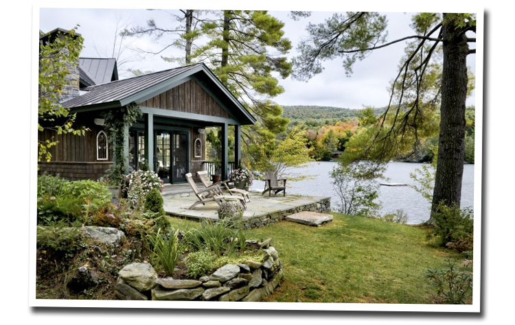 Lake House via Houzz