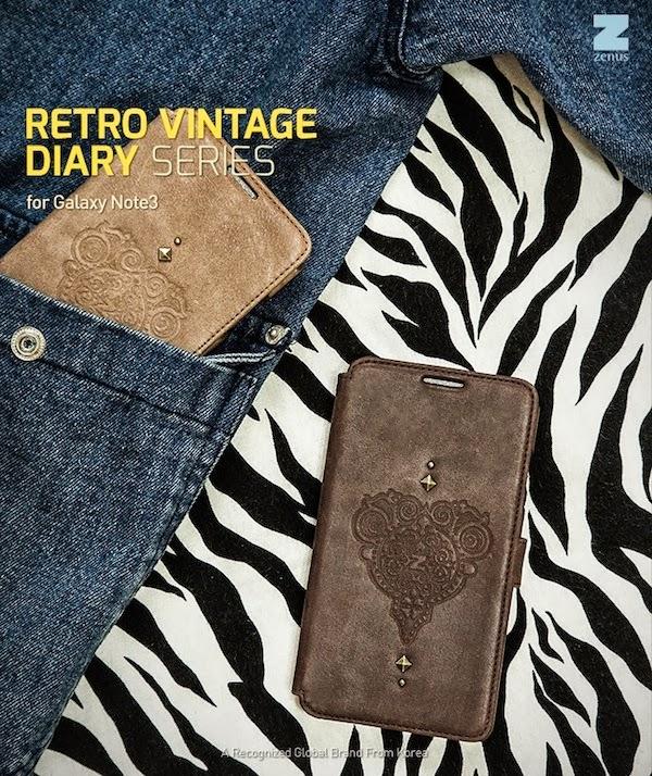Retro Vintage Diary Case
