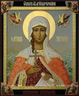 Sfânta Muceniţă Tatiana