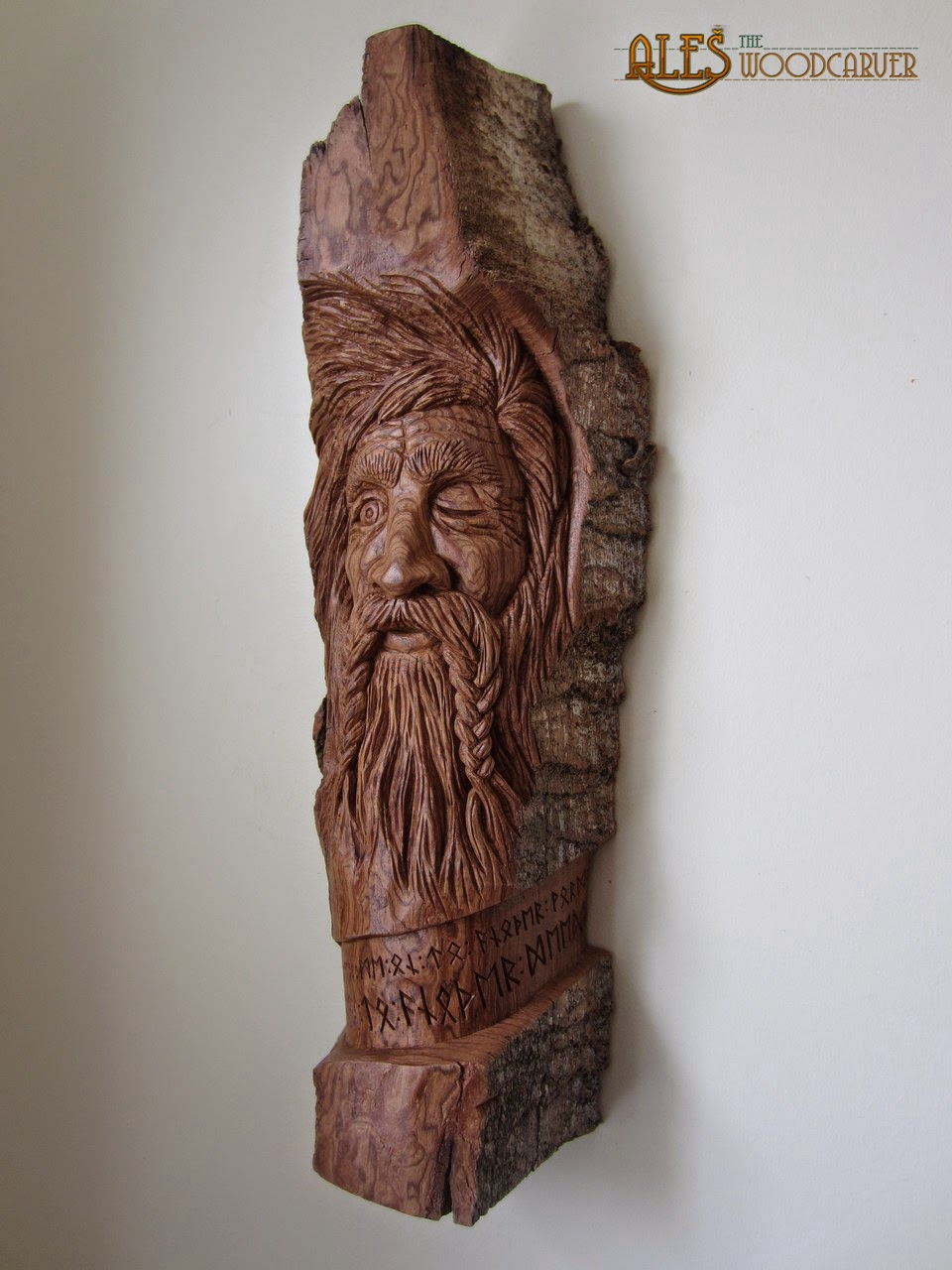 Ales the woodcarver odin wood spirit